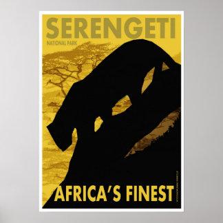 Poster/impresión de Serengeti