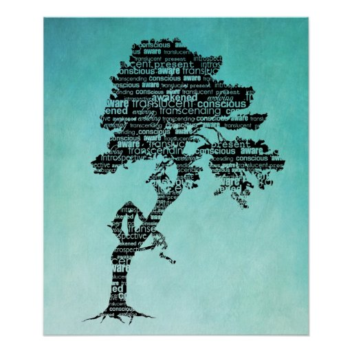 Poster/impresión del árbol de Bodhi