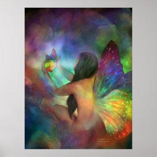 Poster/impresión del arte de la transformación
