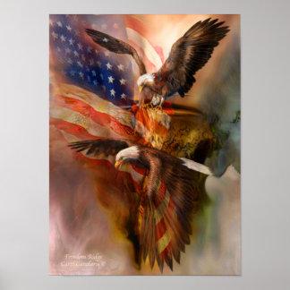 Poster/impresión del arte de Ridge-Eagle de la lib