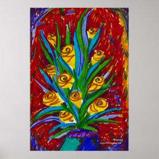 Poster/impresión del flor