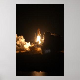 Poster/impresión del lanzamiento de la noche del t