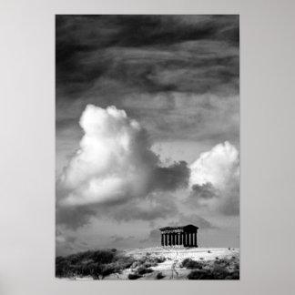 Poster/impresión del monumento de Penshaw Póster