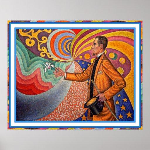 Poster/impresión: El mago