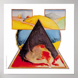 """Poster/impresión: """"Fomente el triángulo """" Póster"""