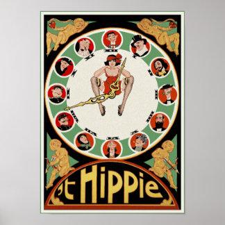 Poster/impresión:  'Hippie de t de Charles Póster