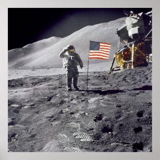 Poster/impresión: Hombre en la luna - NASA 1969