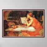 Poster/impresión: La bruja - Waterhouse de Juan
