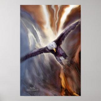 Poster impresión libres del arte de la mosca