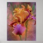 Poster/impresión pintados del arte del iris