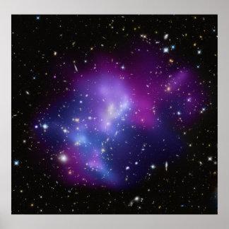 Poster/impresión:   Racimo de la galaxia