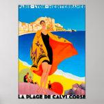 Poster/impresión: Riviera francesa