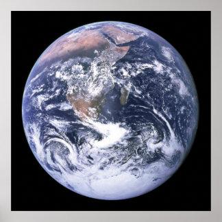 Poster/impresión: Tierra del planeta
