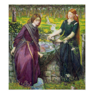 Poster/impresión: Vision de Dante de Raquel y de L Póster