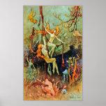 Poster/impresiones: Sirenas de hadas - Warwick Gob