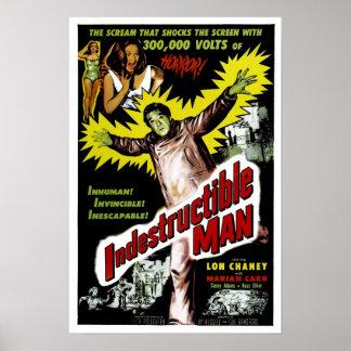 Poster indestructible del hombre