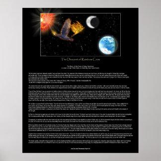 Poster indio americano del mito y de la fantasía d