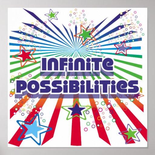 Poster infinito de las posibilidades