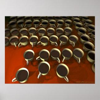 Poster infinito del café