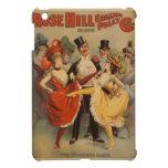 Poster inglés del vintage de la locura de la colin iPad mini carcasas
