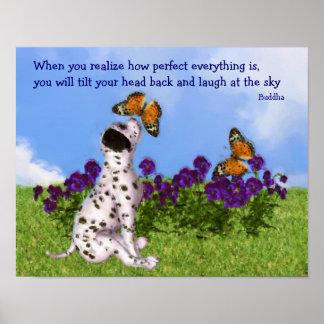 Poster inspirado de la cita de las mariposas del p
