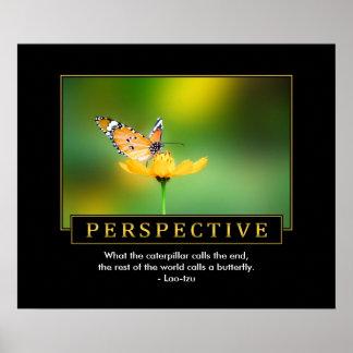 Poster inspirado de la perspectiva