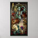 """Poster integral de """"Bridgette"""" de los zombis del h"""