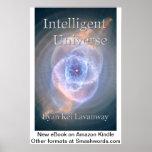 Poster inteligente de la cubierta de libro del uni