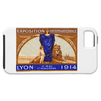 Poster internacional 1914 de la expo de Lyon Funda Para iPhone SE/5/5s