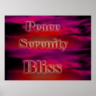 Poster interno de la paz