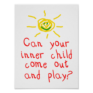 Poster interno del niño