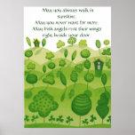 Poster irlandés de la bendición