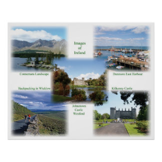Poster irlandés de las imágenes