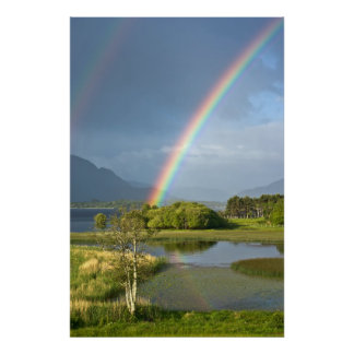 Poster irlandés del arco iris
