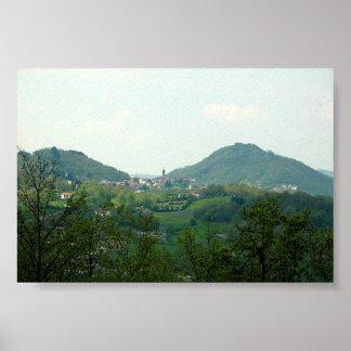 Poster Italian Countryside