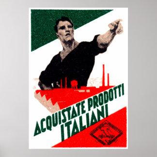 Poster italiano de 1925 productos de la compra
