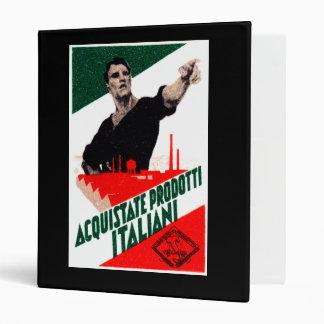 """Poster italiano de 1925 productos de la compra carpeta 1"""""""