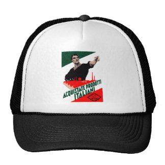 Poster italiano de 1925 productos de la compra gorra