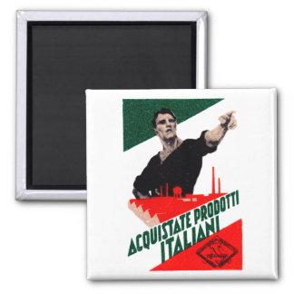 Poster italiano de 1925 productos de la compra imán cuadrado