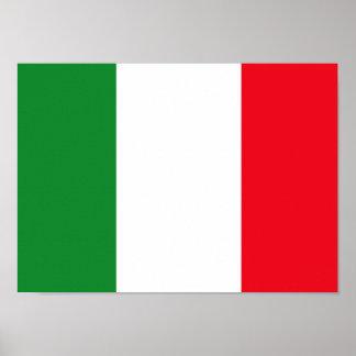 Poster italiano de la bandera