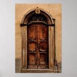 Poster italiano de la puerta