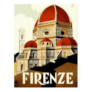 Poster italiano del turismo del vintage tarjetas postales