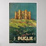"""Poster italiano del viaje del vintage """"de Puglie ("""