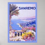 Poster italiano del viaje del vintage del ~ de San
