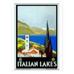 Poster italiano del viaje del vintage del distrito postal