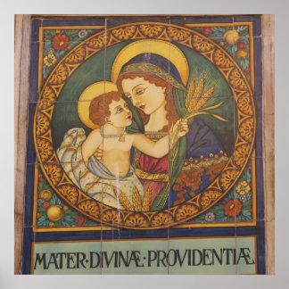 Poster--Italiano Madonna