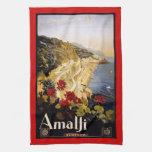 Poster italiano retro del vintage toallas