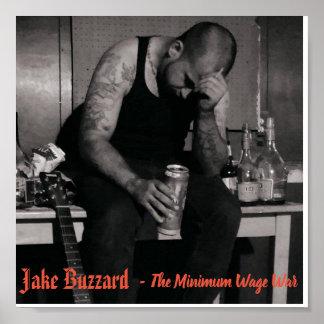 Poster - Jake Buzzard Minimum Wage War