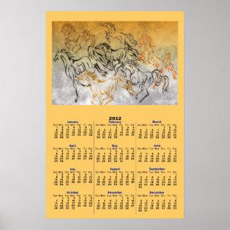 Poster JUGUETÓN del calendario de la MANADA 2012