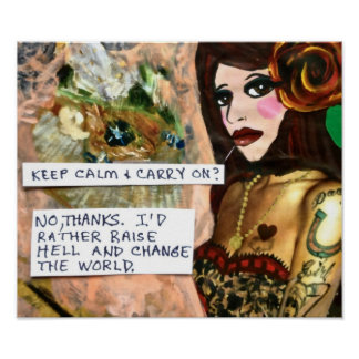 POSTER-KEEP CALM AND CARRY ON? POSTER
